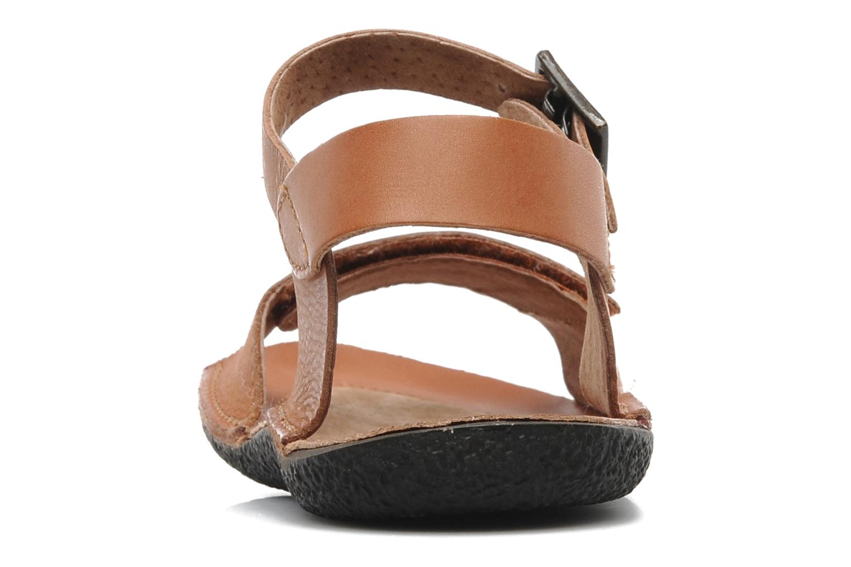 Sandalen Kickers Pepsi Bruin rechts