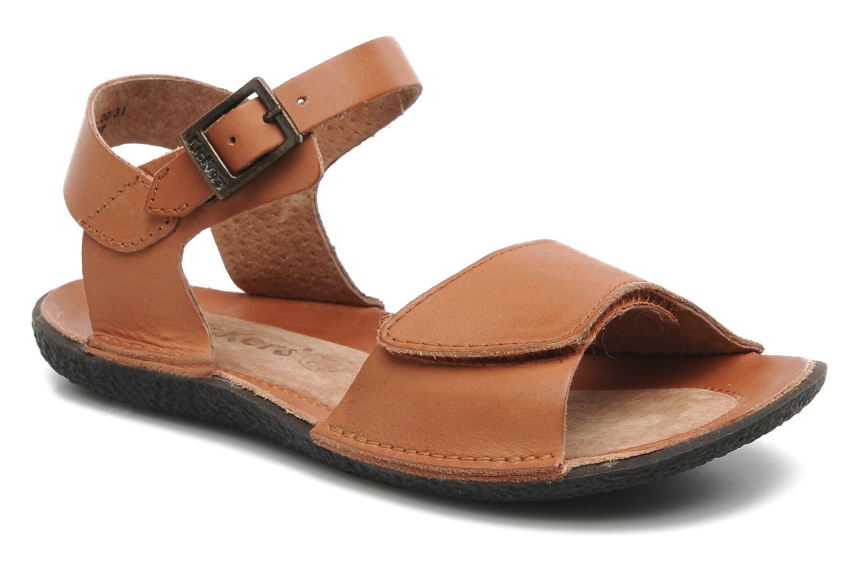 Sandales et nu-pieds Kickers Pepsi Marron vue détail/paire