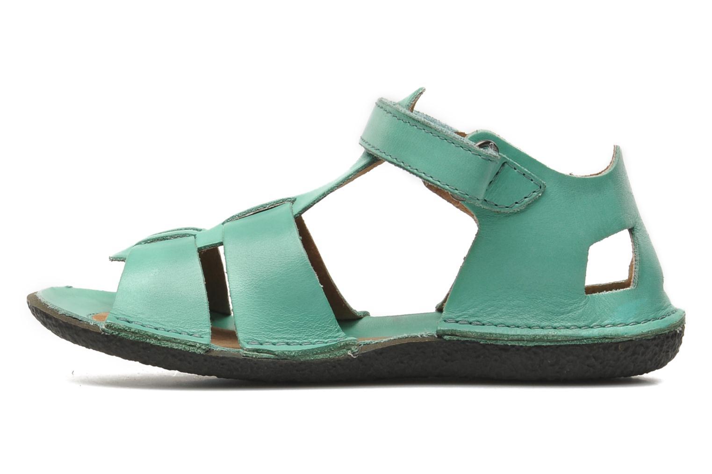Sandalen Kickers Pipo Groen voorkant