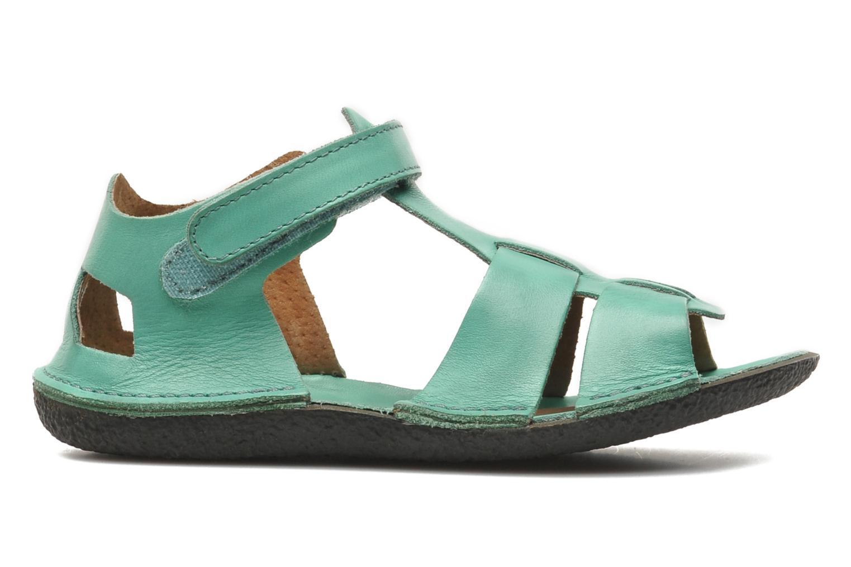 Sandalen Kickers Pipo Groen achterkant