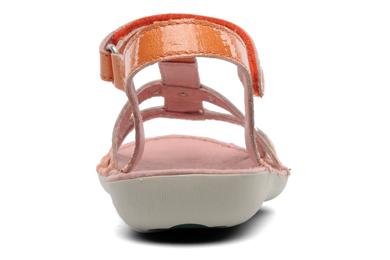Sandali e scarpe aperte Kickers Esmeralda Arancione immagine destra