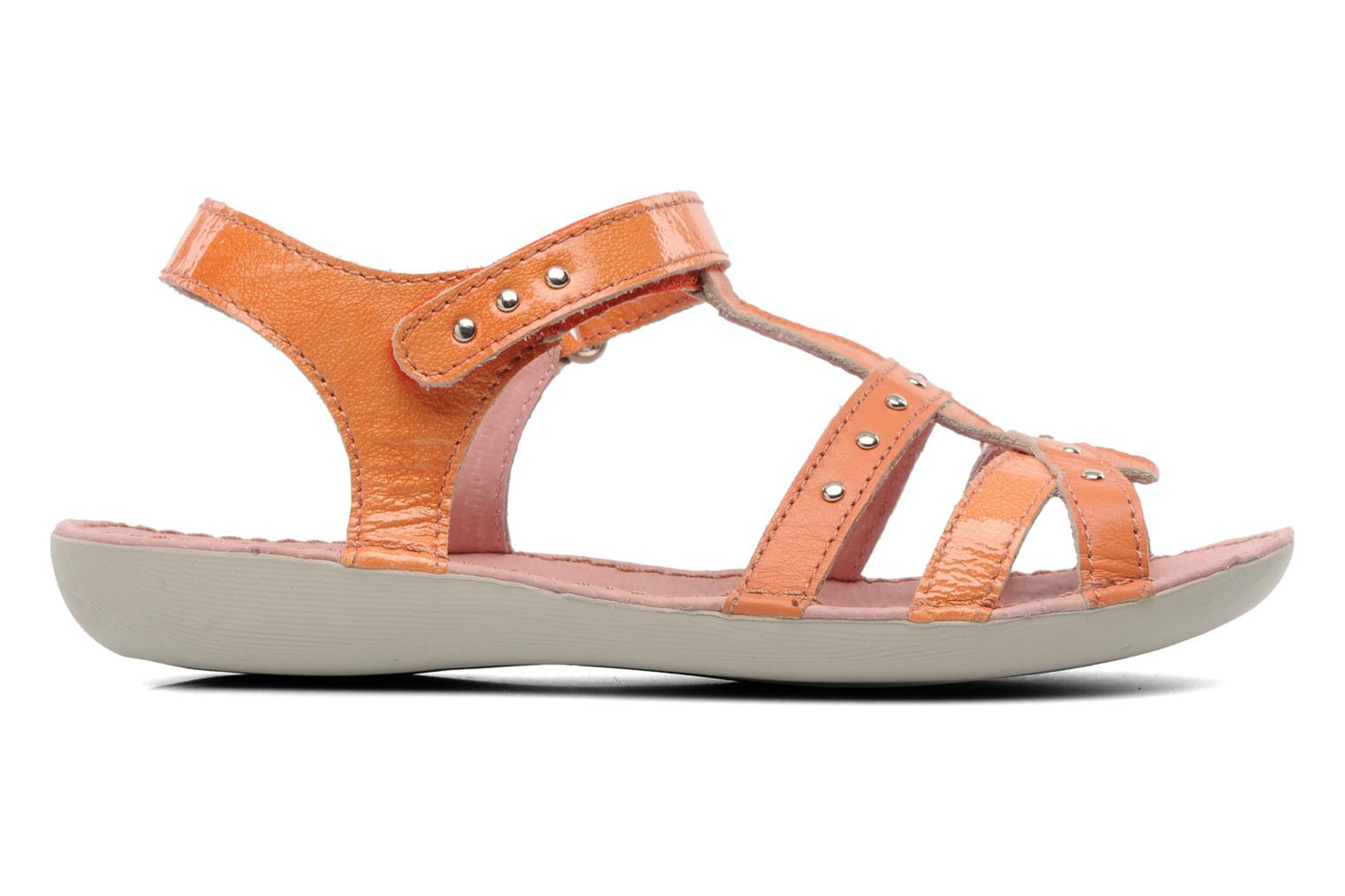 Sandaler Kickers Esmeralda Orange se bagfra