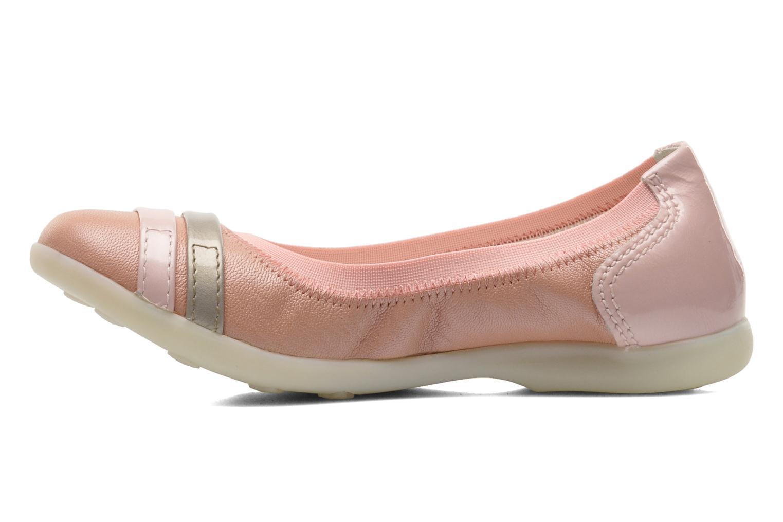 Ballerina's Kickers Amberi Roze voorkant