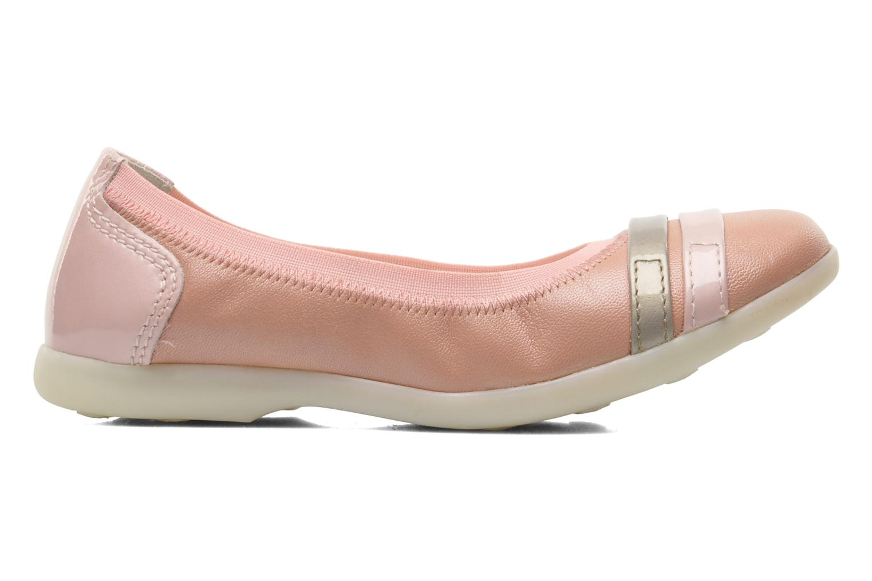 Ballerina's Kickers Amberi Roze achterkant