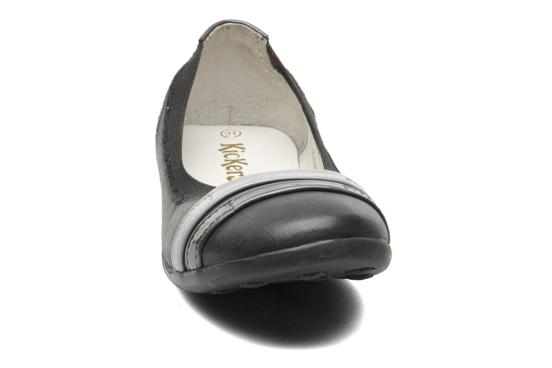 Ballerinas Kickers Amberi grau schuhe getragen