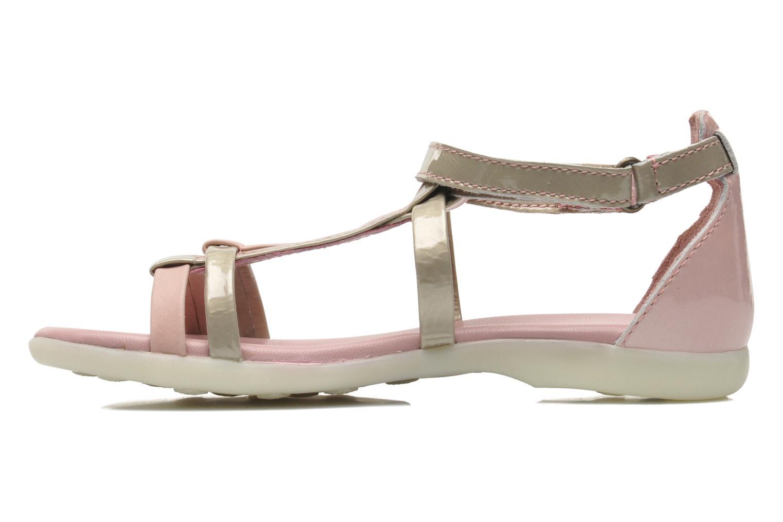 Sandales et nu-pieds Kickers Ariane Rose vue face