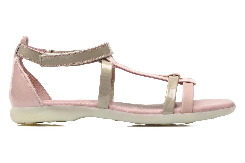 Sandales et nu-pieds Kickers Ariane Rose vue derrière