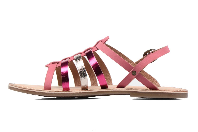 Sandaler Kickers Dixmillion Pink se forfra