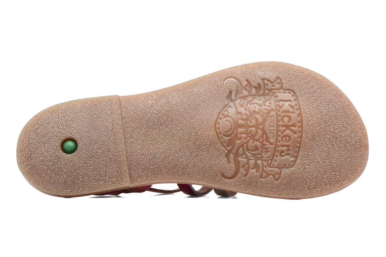 Sandaler Kickers Dixmillion Pink se foroven