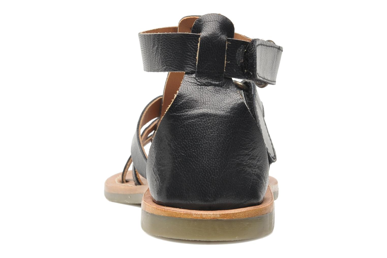 Sandalen Kickers Djack E Zwart rechts