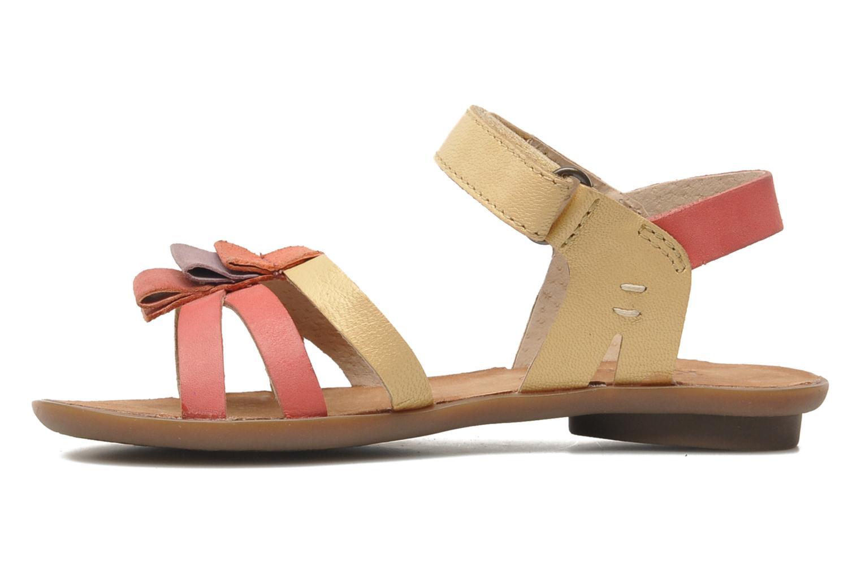 Sandales et nu-pieds Kickers Zephira E Multicolore vue face