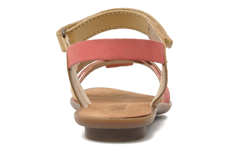Sandales et nu-pieds Kickers Zephira E Multicolore vue droite