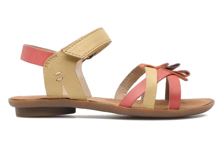 Sandales et nu-pieds Kickers Zephira E Multicolore vue derrière