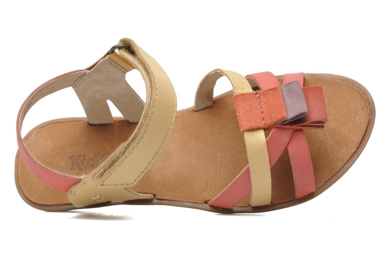 Sandales et nu-pieds Kickers Zephira E Multicolore vue gauche