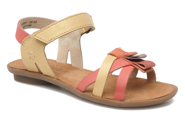 Sandales et nu-pieds Kickers Zephira E Multicolore vue détail/paire
