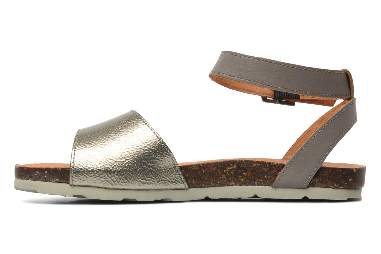 Sandalen Kickers Dina Zilver voorkant