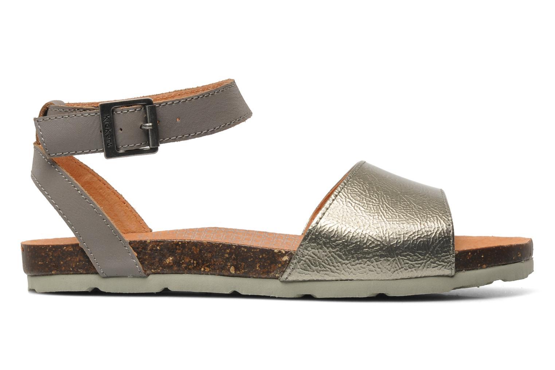 Sandalen Kickers Dina Zilver achterkant