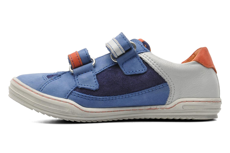 Sneakers Kickers Jingembre Blå bild från framsidan