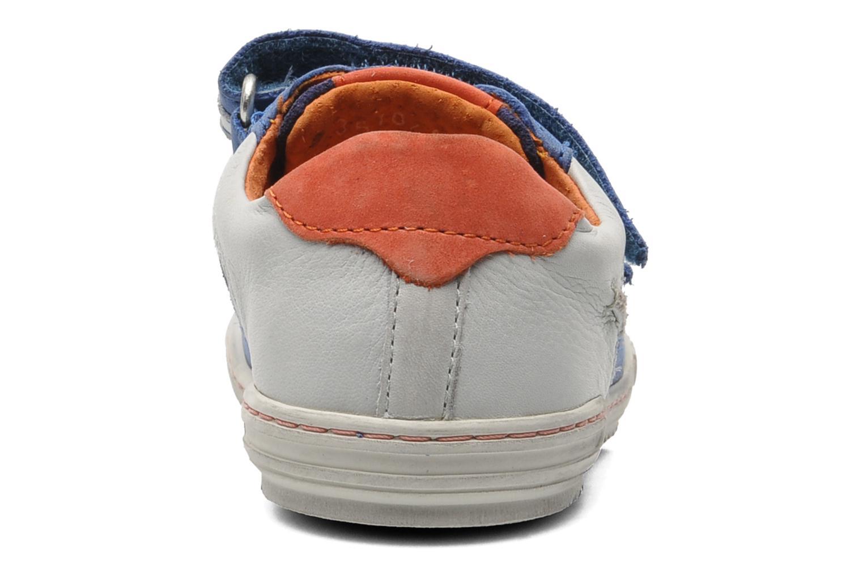 Sneakers Kickers Jingembre Blå Bild från höger sidan