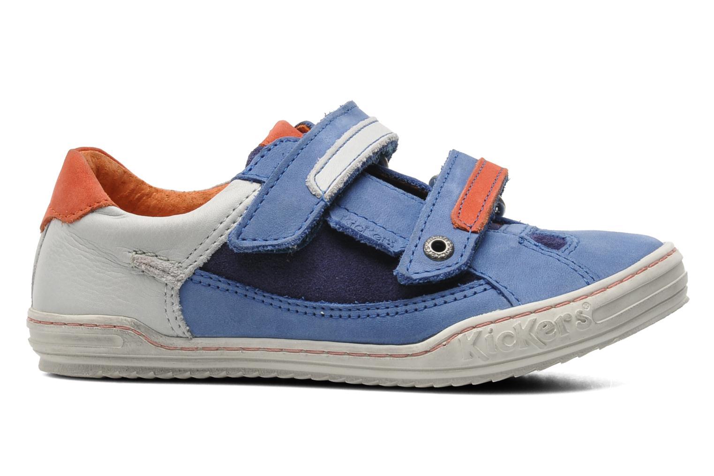 Sneakers Kickers Jingembre Blå bild från baksidan