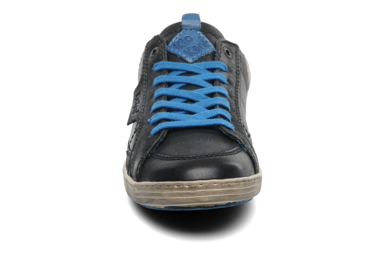 Sneaker Kickers Ambassy E schwarz schuhe getragen