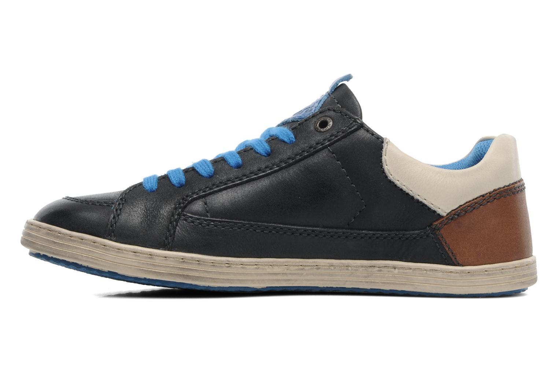 Sneakers Kickers Ambassy E Zwart voorkant