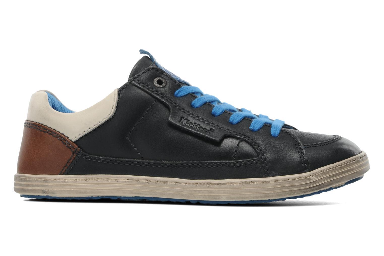 Sneaker Kickers Ambassy E schwarz ansicht von hinten