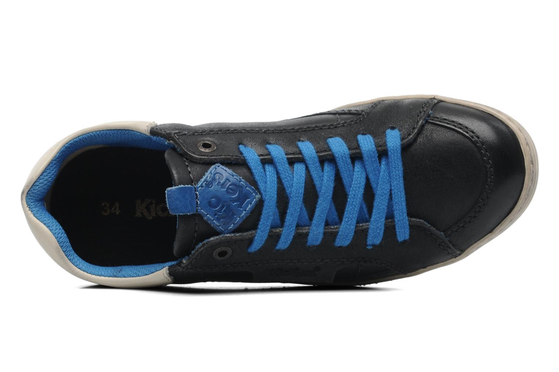 Sneakers Kickers Ambassy E Zwart links