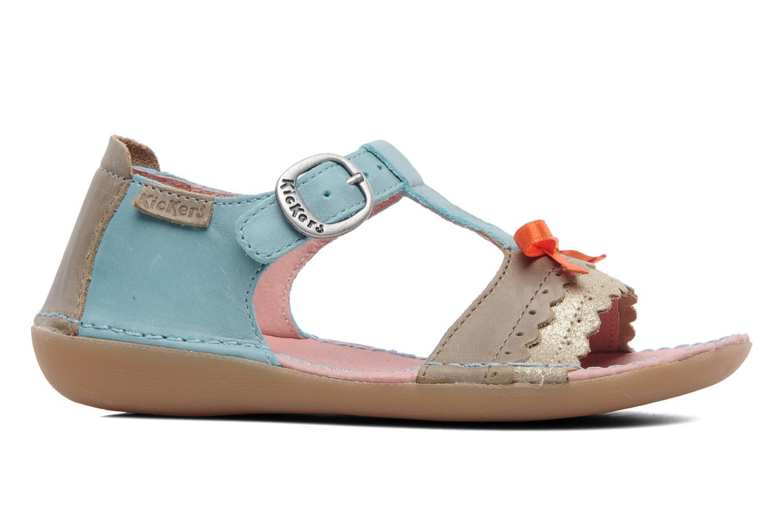 Sandali e scarpe aperte Kickers Especial Azzurro immagine posteriore