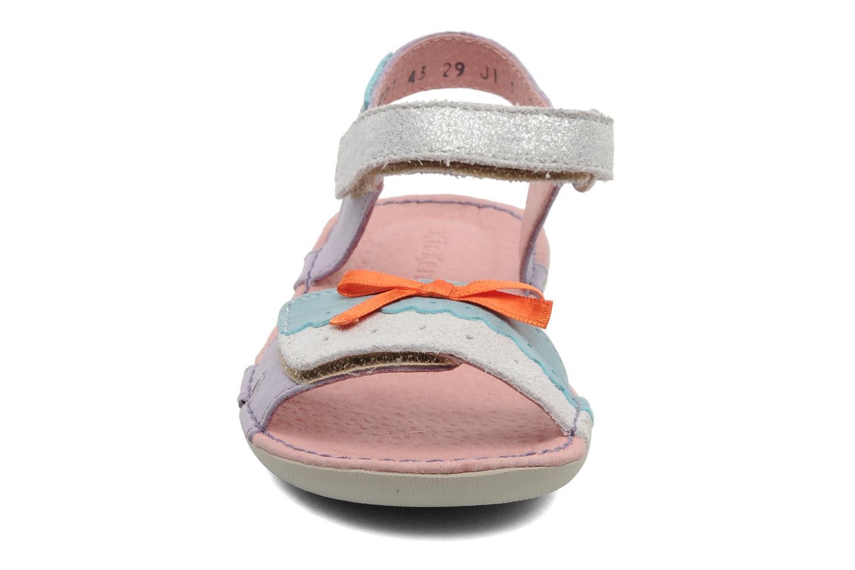 Sandalen Kickers Espiegle lila schuhe getragen