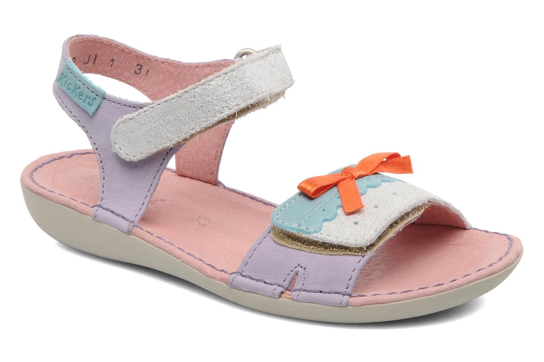 Sandalen Kickers Espiegle lila detaillierte ansicht/modell