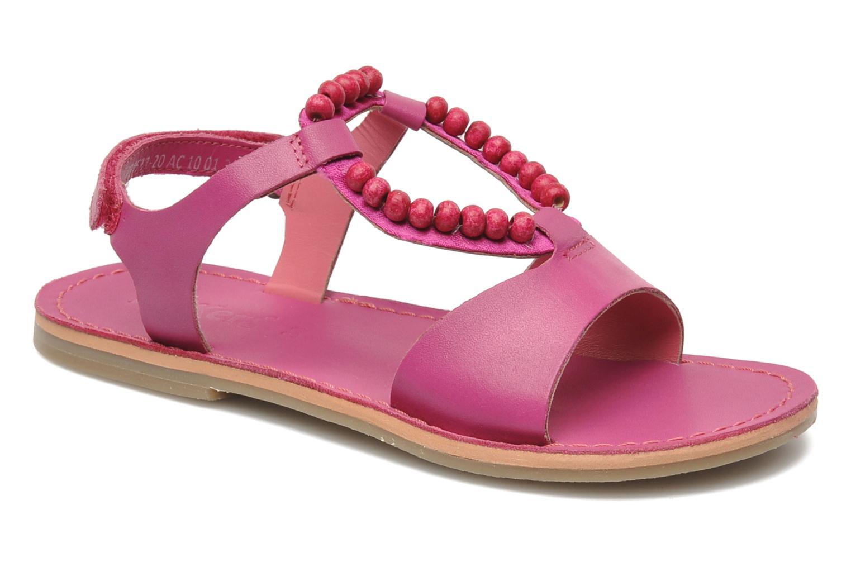 Sandalen Kickers Paprika rosa detaillierte ansicht/modell