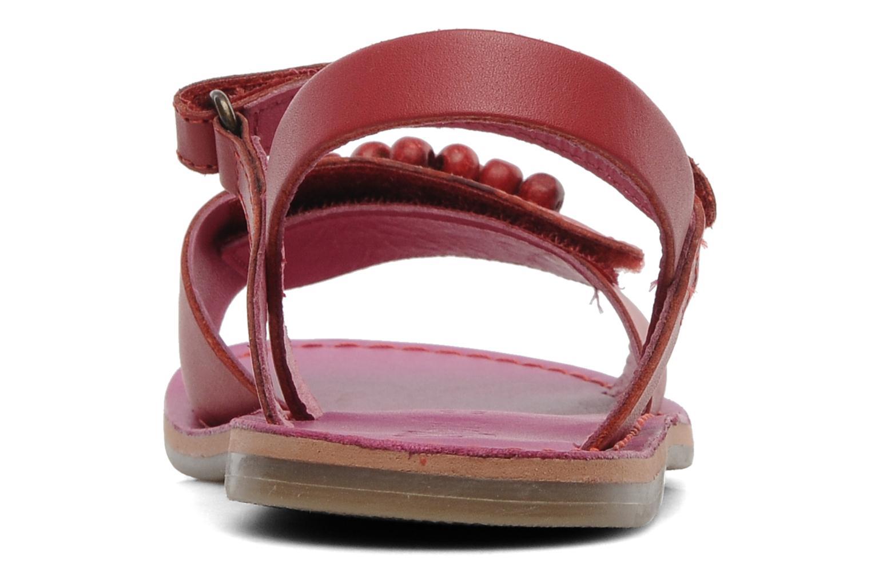 Sandalen Kickers Parma Rood rechts