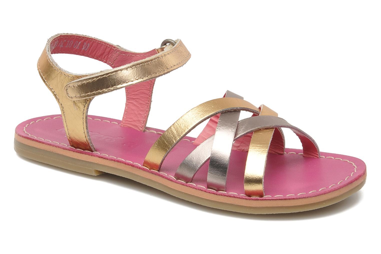 Sandalen Kickers Parallelo gold/bronze detaillierte ansicht/modell