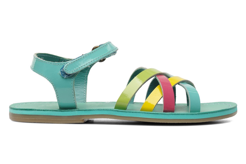 Sandalen Kickers Parallelo Blauw achterkant