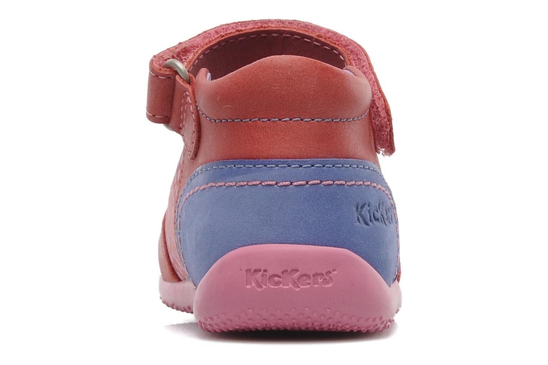 Ballerina's Kickers Bikipop Rood rechts