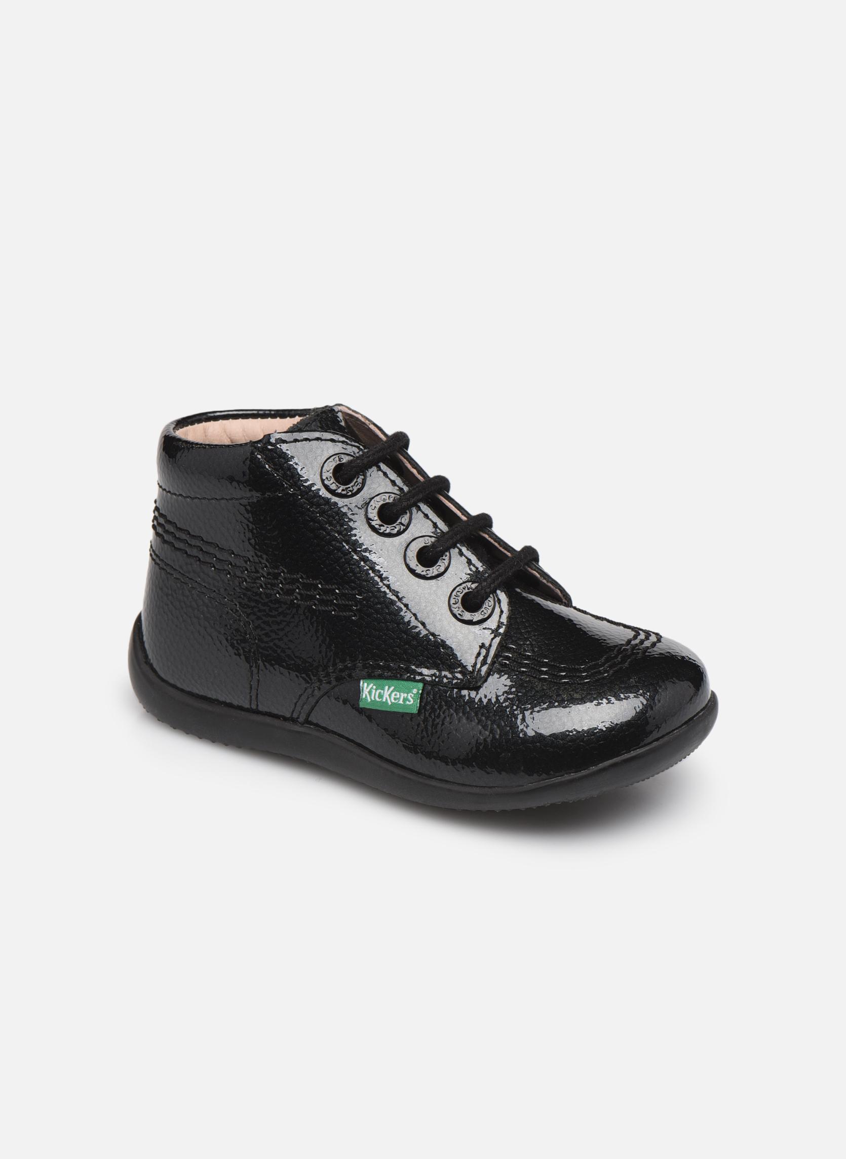 Stiefeletten & Boots Kickers Billista schwarz detaillierte ansicht/modell