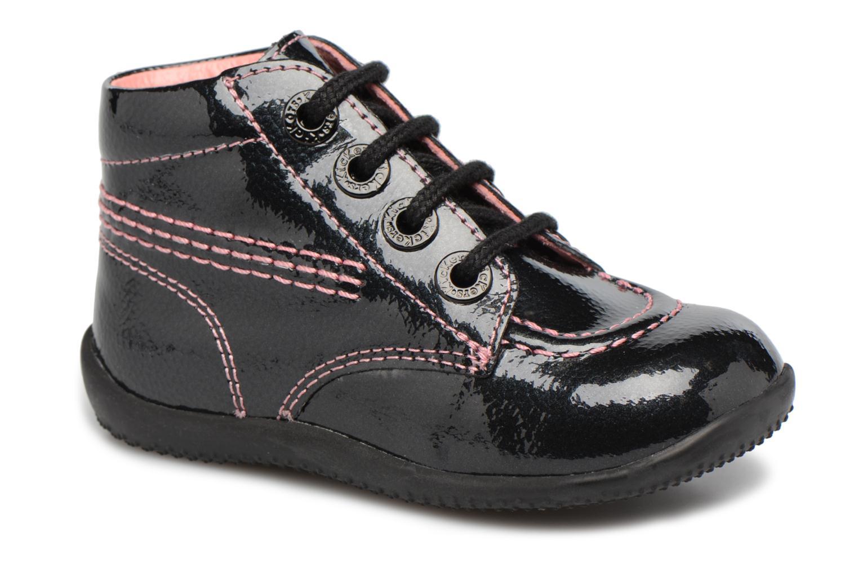 Bottines et boots Kickers Billista Noir vue détail/paire