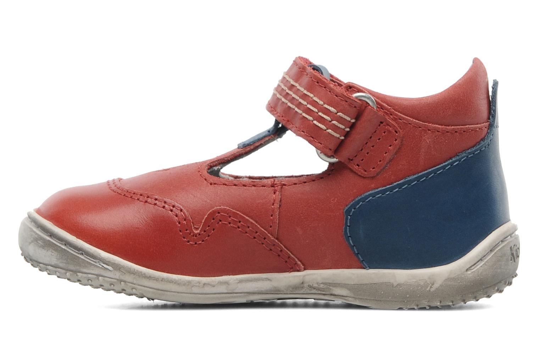 Sandalen Kickers Gusto Rood voorkant