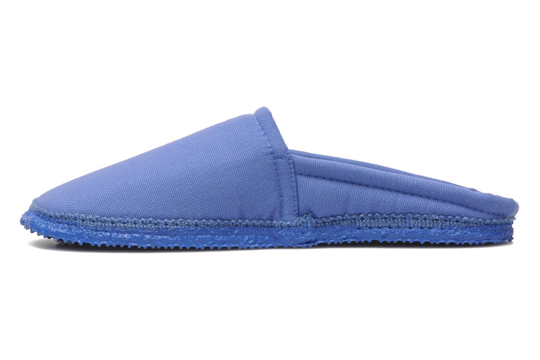Pantoffels Giesswein Villach W Blauw voorkant