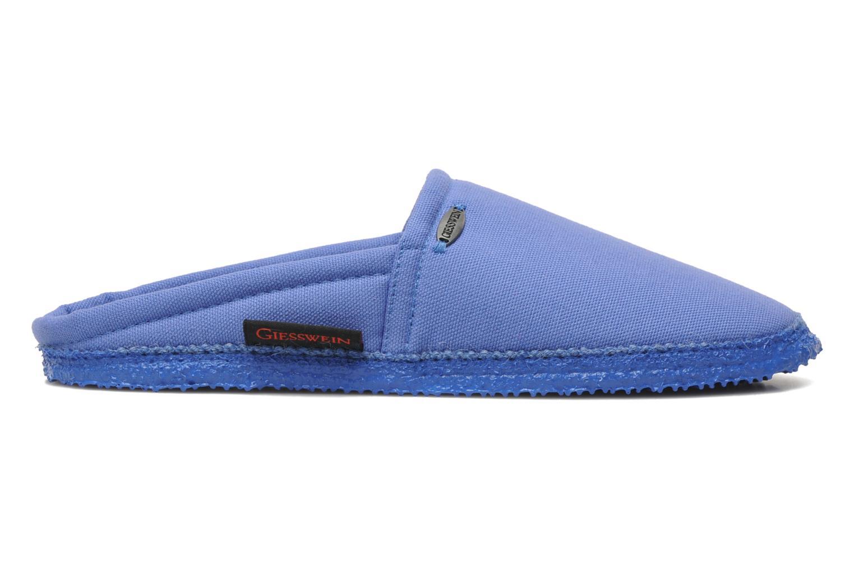 Pantoffels Giesswein Villach W Blauw achterkant