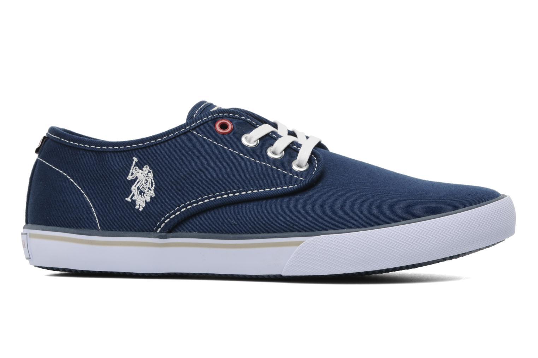 Sneakers U.S Polo Assn. Hugh Blauw achterkant