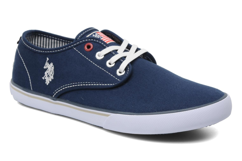 Sneakers U.S Polo Assn. Hugh Blauw detail