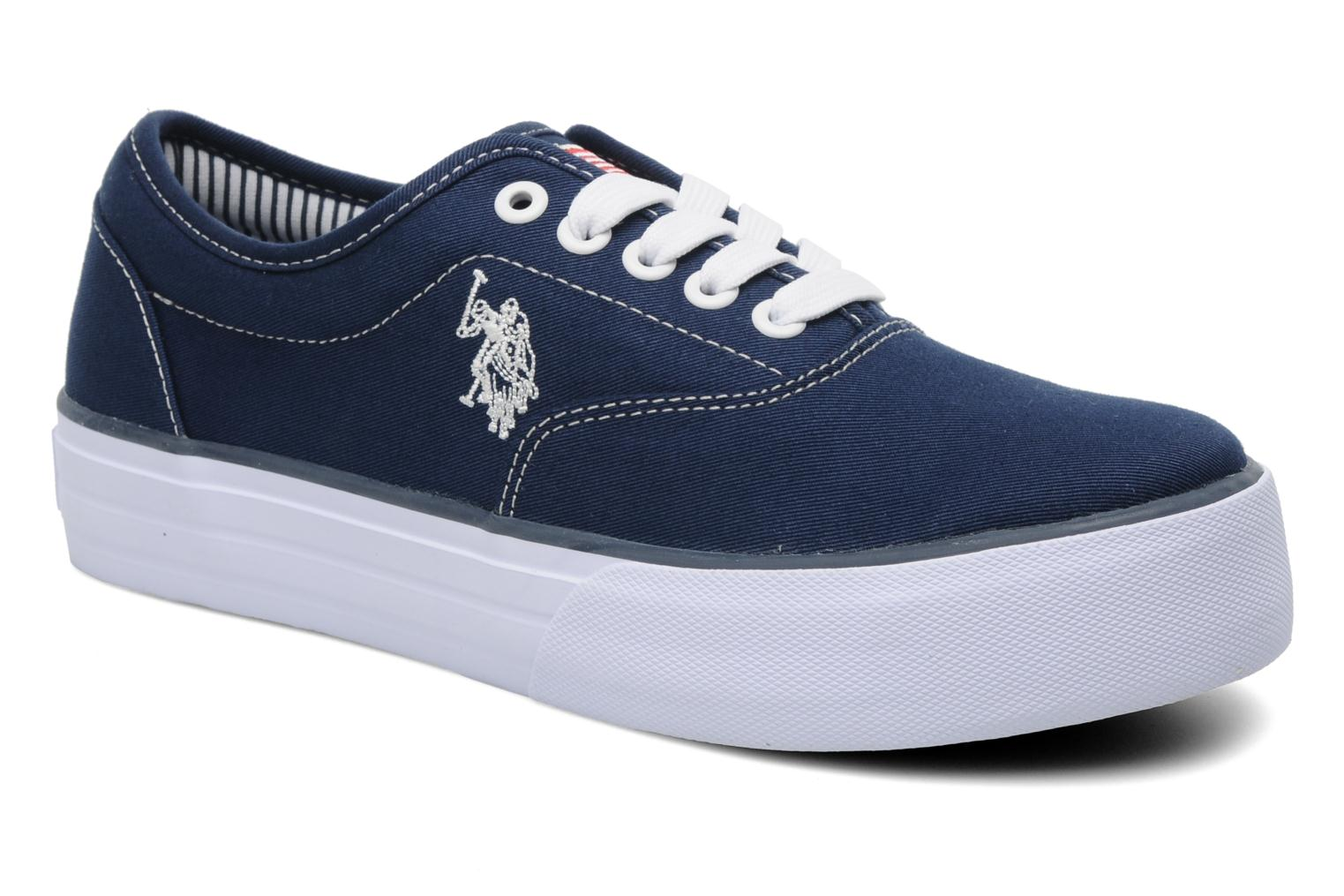 Sneakers U.S Polo Assn. Gill Blauw detail
