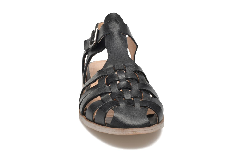 Sandales et nu-pieds Jonak Macara Noir vue portées chaussures