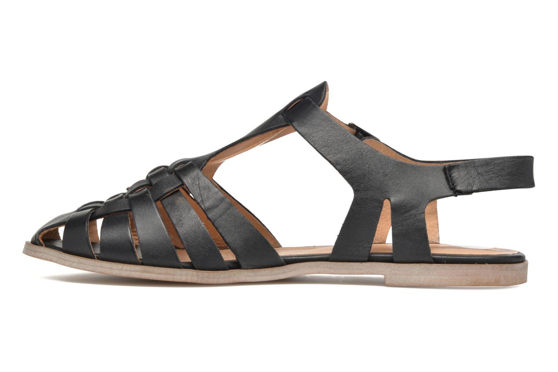 Sandales et nu-pieds Jonak Macara Noir vue face