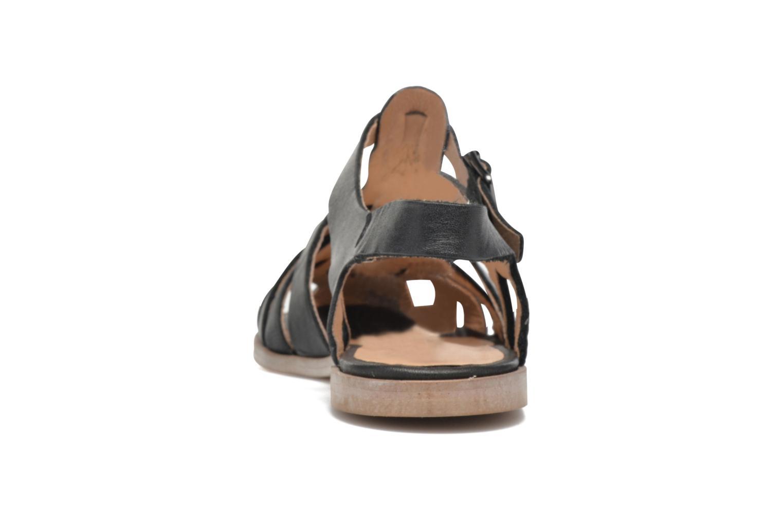 Sandales et nu-pieds Jonak Macara Noir vue droite