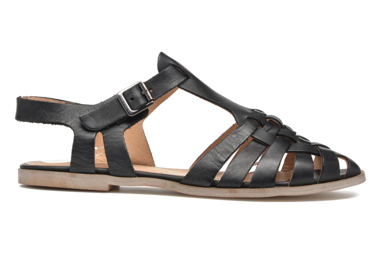 Sandales et nu-pieds Jonak Macara Noir vue derrière
