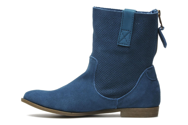 Boots en enkellaarsjes Xti Alexa Blauw voorkant