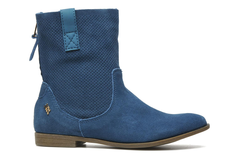 Boots en enkellaarsjes Xti Alexa Blauw achterkant